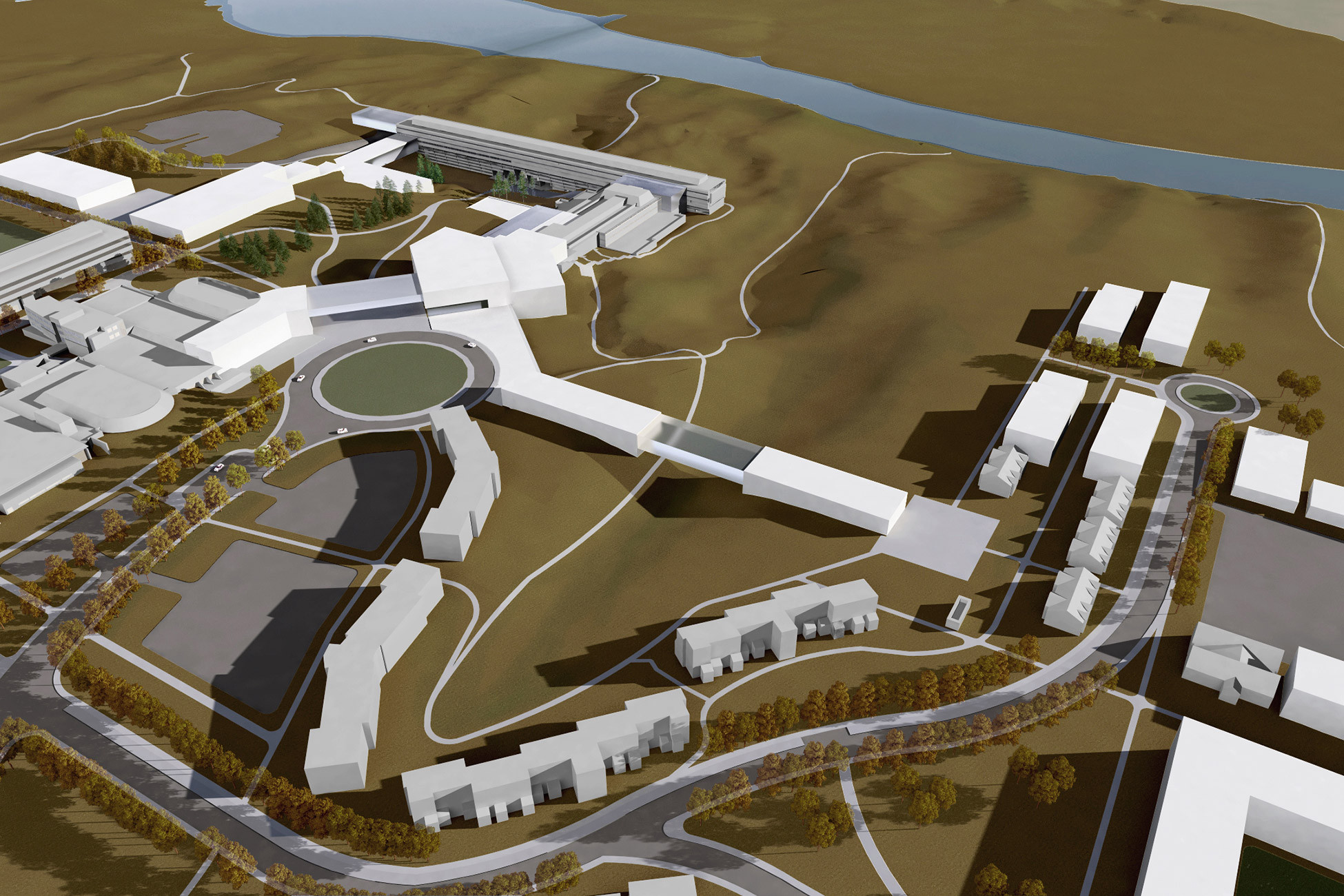 university of lethbridge campus master plan