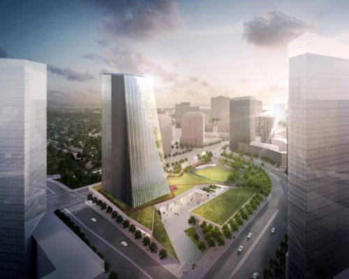 Etobicoke Civic Centre Design Competition