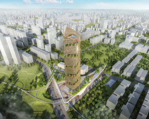 """Taichung Smart Centre – """"The Path"""""""