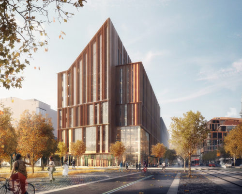 George Brown Tall Wood Building Competition